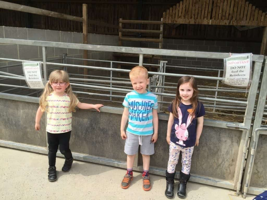 Erin with friends at Cannon Hall Farm